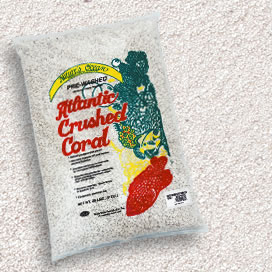 Natures Ocean® Premium Atlantic Crushed Coral Sand with Aragonite #0